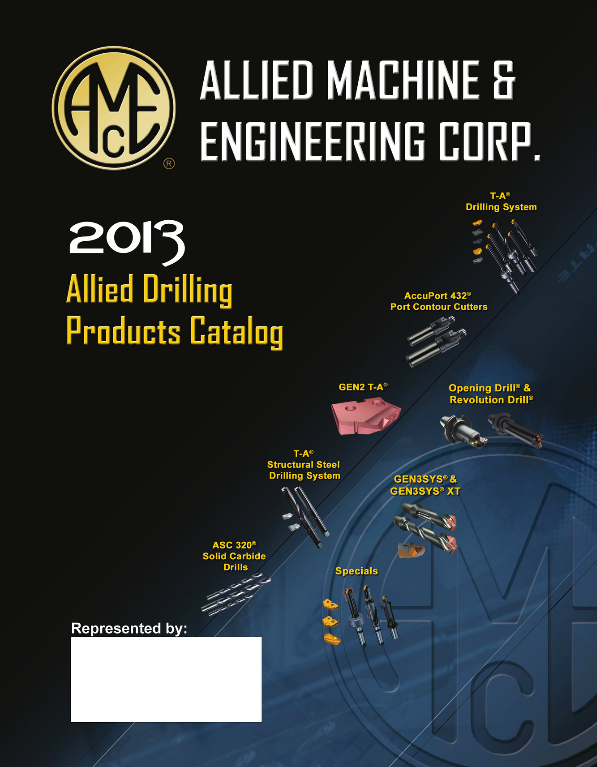 Allied Machining Catalog